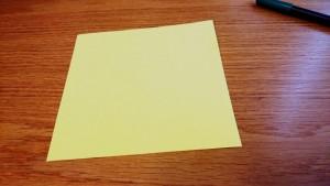 Mit Origami den Faden verlieren